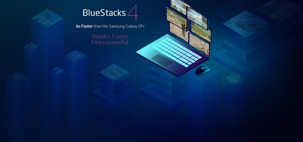 bluestack 4 to run android on pc
